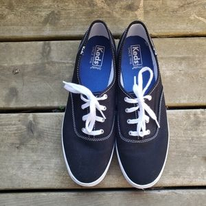 Keds Black Classic Canvas Sneakers Basic Shoes 10